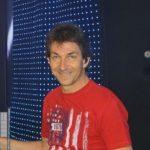 Schlagzeugleherer Helmut Buksek
