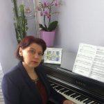 Keyboard Lehrerin Ingrid Marten
