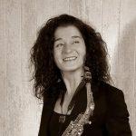 Saxophonlehrerin Margit Falk