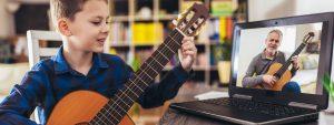 Online Digital Musikunterricht Corona kontaktlos